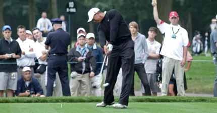 Two-Stroke Penalty in US Open Golf 2020