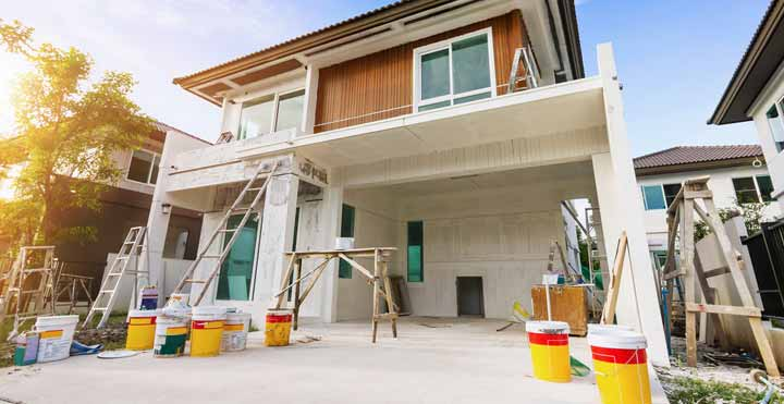 How to Prepare the Wall for the Exterior Paint